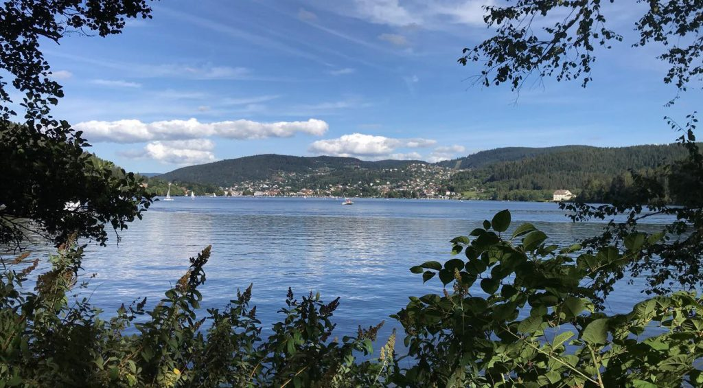 lac de Gérardmer dans les Vosges